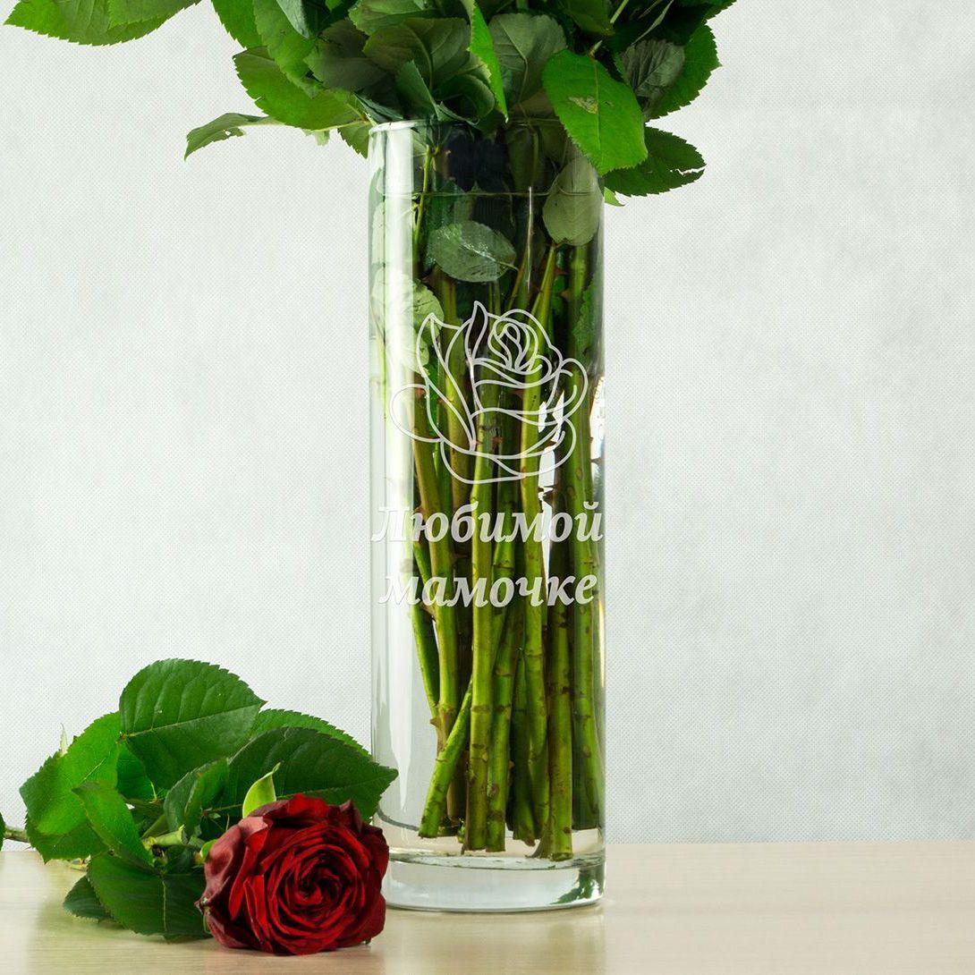 Выгравированная ваза